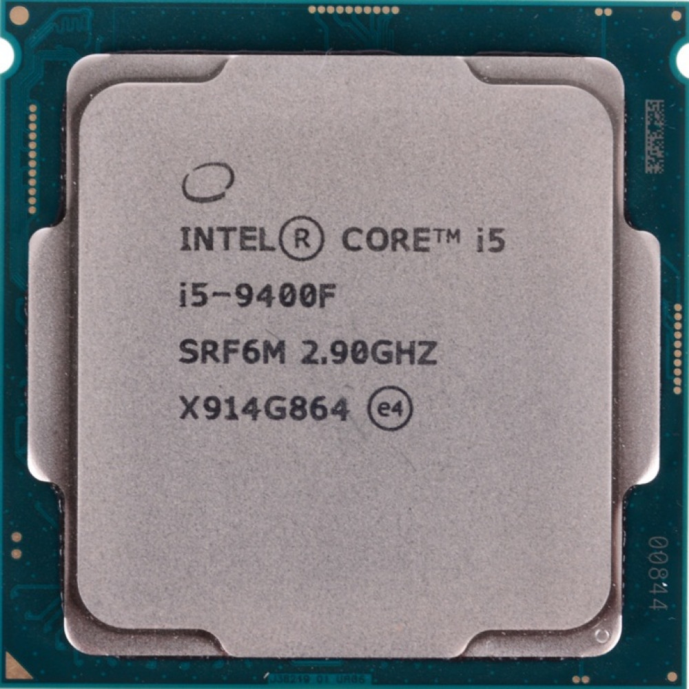 Процессор CPU Intel Core i5 9500 3,0GHz (4,4GHz) 9Mb 6/6 Core Coffe Lake Tray 65W FCLGA1151